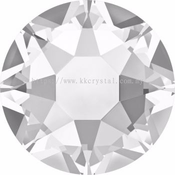 Swarovski Flat Backs Hotfix, 2078 SS20, Crystal A HF (001)