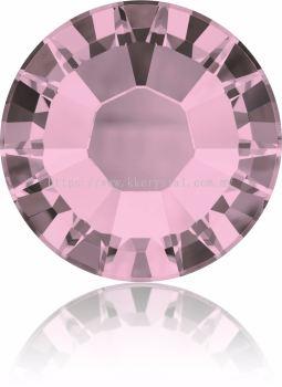 Swarovski Flat Backs Hotfix, 2038 SS12, Crystal Antique Pink A HF (001 ANTP), 144pcs/pack