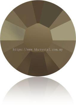 Swarovski Flat Backs Hotfix, 2038 SS12, Crystal Metallic Light Gold A HF (001 MLGLD), 144pcs/pack