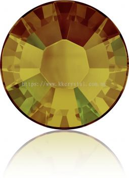 Swarovski Flat Backs Hotfix, 2038 SS12, Crystal Tabac A HF (001 TAB), 144pcs/pack