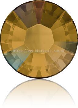 Swarovski Flat Backs Hotfix, 2038 SS12, Topaz AB A HF (203 AB), 144pcs/pack