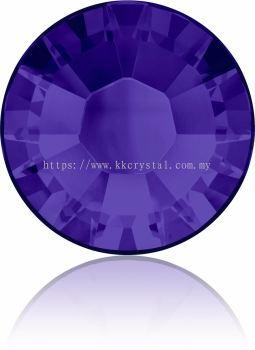 Swarovski Flat Backs Hotfix, 2038 SS12, Purple Velvet A HF (277), 144pcs/pack