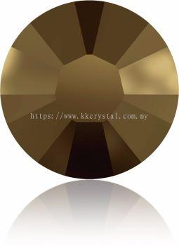 Swarovski Flat Backs Hotfix, 2038 SS16, Crystal Dorado A HF (001 DOR), 144pcs/pack