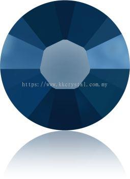 Swarovski Flat Backs Hotfix, 2038 SS16, Crystal Metallic Blue A HF (001 METBL), 144pcs/pack