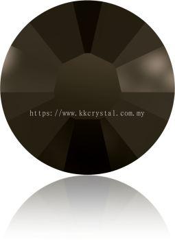 Swarovski Flat Backs Hotfix, 2038 SS16, Jet Nut (280 NUT), 144pcs/pack