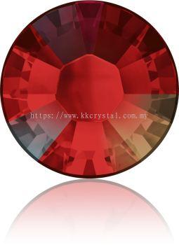 Swarovski Flat Backs Hotfix, 2038 SS16, Light Siam AB A HF (227 AB), 144pcs/pack