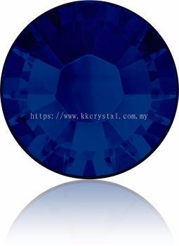 Swarovski Flat Backs Hotfix, 2038 SS34, Cobalt A HF (369), 18pcs/pack