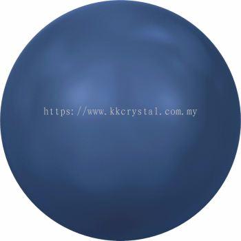 Swarovski 5810 Crystal Round Pearl, 04mm, Crystal Lapis Pearl (001 717), 100pcs/pack