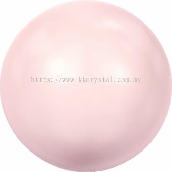 Swarovski 5810 Crystal Round Pearl, 04mm, Crystal Rosaline Pearl (001 294), 100pcs/pack