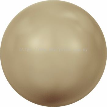 Swarovski 5810 Crystal Round Pearl, 04mm, Crystal Vintage Gold Pearl (001 651), 100pcs/pack