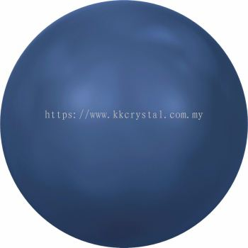 Swarovski 5810 Crystal Round Pearl, 08mm, Crystal Lapis Pearl (001 717), 50pcs/pack