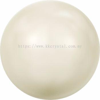 Swarovski 5810 Crystal Round Pearl, 08mm, Crystal Ivory Pearl (001 708), 50pcs/pack