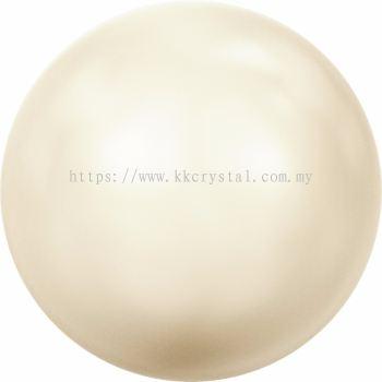Swarovski 5810 Crystal Round Pearl, 08mm, Crystal Creamrose Lt. Pearl (001 618), 50pcs/pack