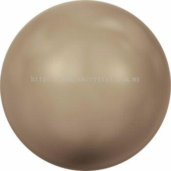 Swarovski 5810 Crystal Round Pearl, 08mm, Crystal Bronze Pearl (001 295), 50pcs/pack