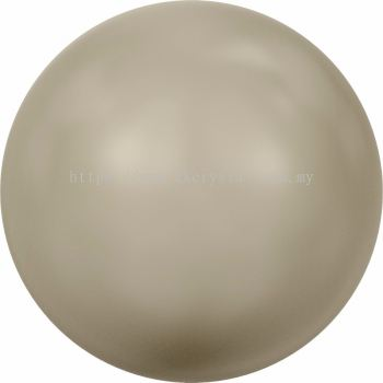 Swarovski 5810 Crystal Round Pearl, 10mm, Crystal Platinum Pearl (001 459), 50pcs/pack