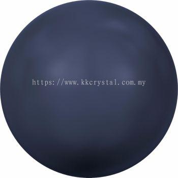 Swarovski 5810 Crystal Round Pearl, 10mm, Crystal Night Blue Pearl (001 818), 50pcs/pack