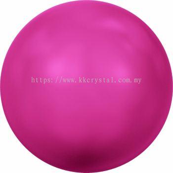 Swarovski 5810 Crystal Round Pearl, 10mm, Crystal Neon Pink Pearl (001 732), 50pcs/pack