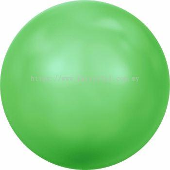 Swarovski 5810 Crystal Round Pearl, 10mm, Crystal Neon Green Pearl (001 771), 50pcs/pack