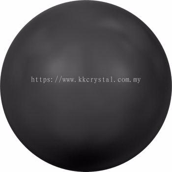 Swarovski 5810 Crystal Round Pearl, 10mm, Crystal Mystic Black Pearl (001 335), 50pcs/pack
