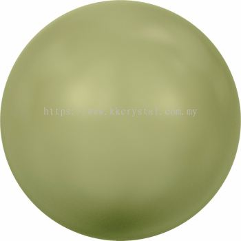 Swarovski 5810 Crystal Round Pearl, 10mm, Crystal Light Green Pearl (001 293), 50pcs/pack