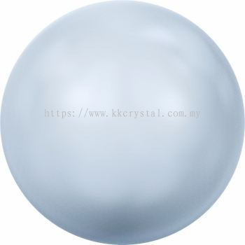 Swarovski 5810 Crystal Round Pearl, 10mm, Crystal Light Blue Pearl (001 302), 50pcs/pack