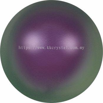 Swarovski 5810 Crystal Round Pearl, 10mm, Crystal Iridescent Purple Pr (001 943), 50pcs/pack