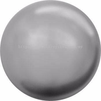 Swarovski 5810 Crystal Round Pearl, 10mm, Crystal Grey Pearl (001 731), 50pcs/pack