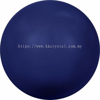 Swarovski 5810 Crystal Round Pearl, 10mm, Crystal Dark Lapis Pearl (001 719), 50pcs/pack