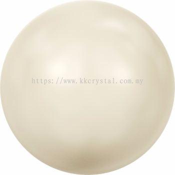 Swarovski 5810 Crystal Round Pearl, 10mm, Crystal Cream Pearl (001 620), 50pcs/pack