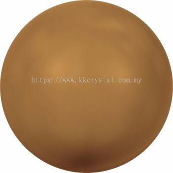 Swarovski 5810 Crystal Round Pearl, 10mm, Crystal Copper Pearl (001 159), 50pcs/pack