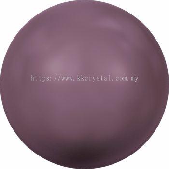 Swarovski 5810 Crystal Round Pearl, 10mm, Crystal Burgundy Pearl (001 301), 50pcs/pack
