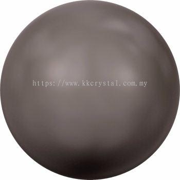 Swarovski 5810 Crystal Round Pearl, 10mm, Crystal Brown Pearl (001 815), 50pcs/pack
