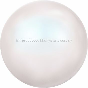 Swarovski 5810 Crystal Round Pearl, 12mm, Crystal Pearlescent White PR (001 969), 50pcs/pack
