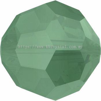 Swarovski 5000 Round Beads, 4mm, Palace Green Opal (393), 10pcs/pack