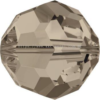 Swarovski 5000 Round Beads, 10mm, Greige (284), 2pcs/pack