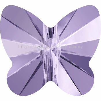Swarovski 5754 Butterfly Bead, 10mm, Violet (371), 2pcs/pack