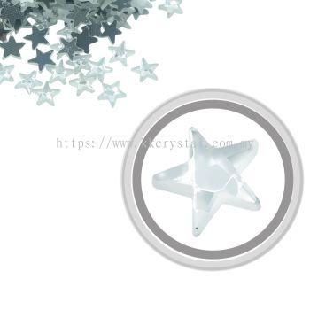 Flatback Hotfix 614, Star Shaped, 6x6mm, Crystal, 360pcs/pack