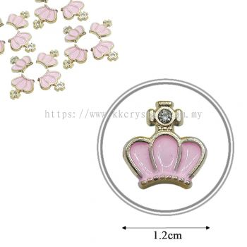Iron On Metal, Code: 17-57#, 17# Pink, 50pcs/pack