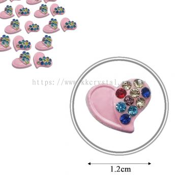 Iron On Metal, Code: 17-75#, 17# Pink, 25pcs/pack
