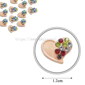 Iron On Metal, Code: 17-75#, 47# Peach, 25pcs/pack