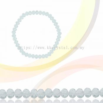 Crystal China, Donut 3mm, B1 Crystal