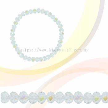Crystal China, Donut 3mm, B68 Crystal AB