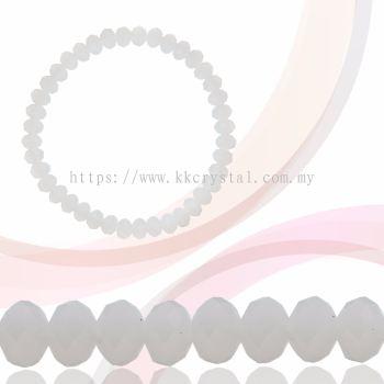 Crystal China, Donut 6mm, B262 Rose Peach Alabaster