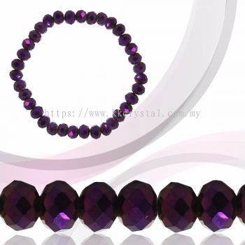Crystal China, Donut 8mm, B81 Metalic Purple