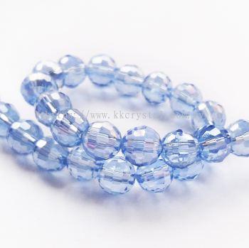 Crystal China, 6mm Disco Ball, B65 Light Sapphire AB