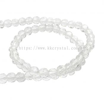 Crystal China, 4mm Round, B1 Crystal