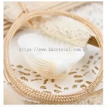 Suasa (Gold Filled), Twist Wire, 0.7mm