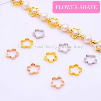 Diverter, Flower Shape, 10mm, 0283018, 50pcs/pkt