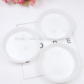 Plastik Mini Sorting Tray, Round, 6cm, 5pcs/pkt
