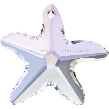 Swarovski 6721 Starfish Pendant, 40mm, Crystal AB (001 AB), 1pcs/pack